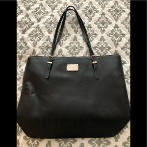 Nine West Medium Black Shoulder Tote Bag